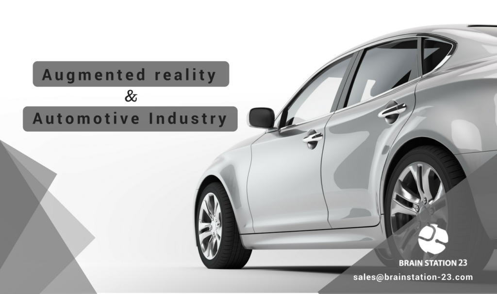 Augmented reality and automotive industry