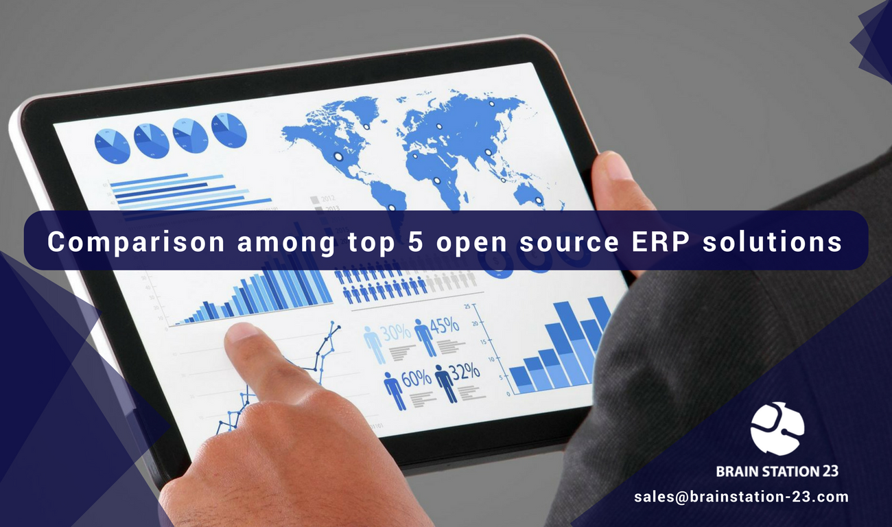 Comparison Among Top 5 Open Source ERP Solution To Choose