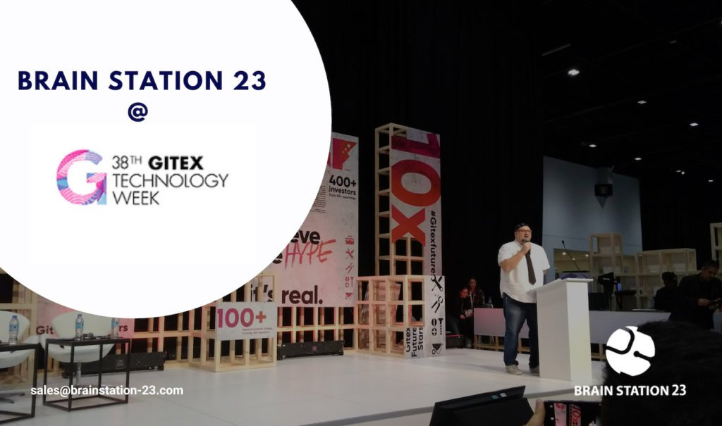 Brain Station 23 at GITEX Technology Week 2018
