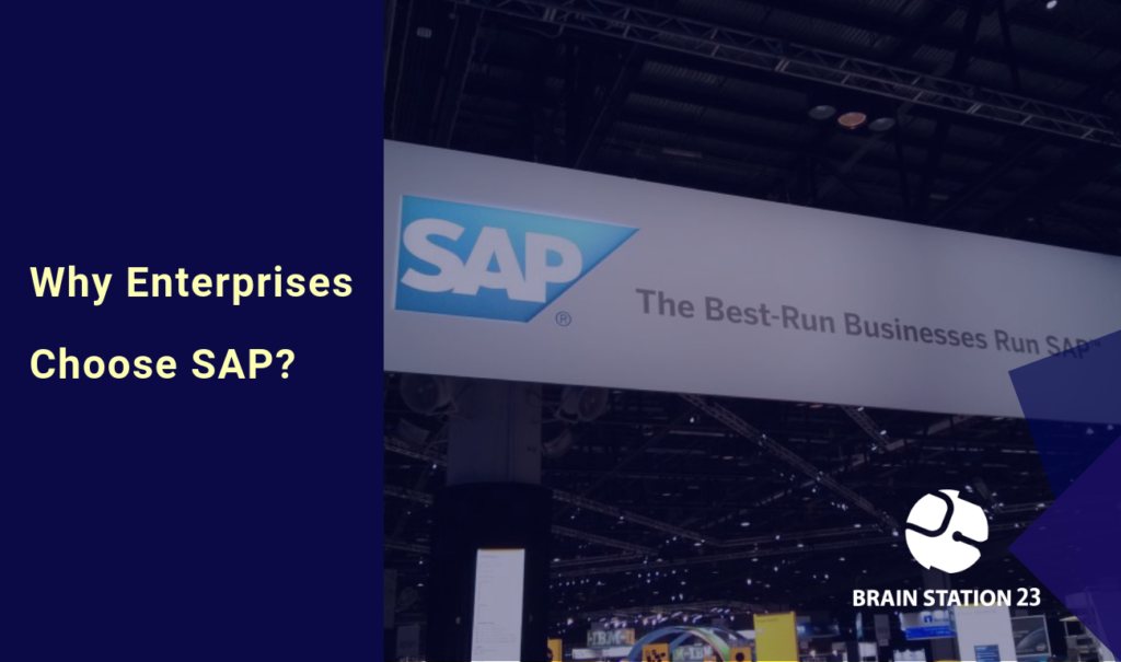 Why Enterprise Businesses Choose SAP?