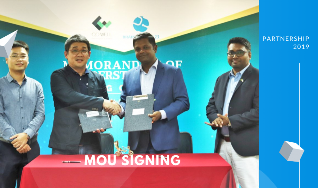 Brain Station 23 signs MOU with CO-WELL